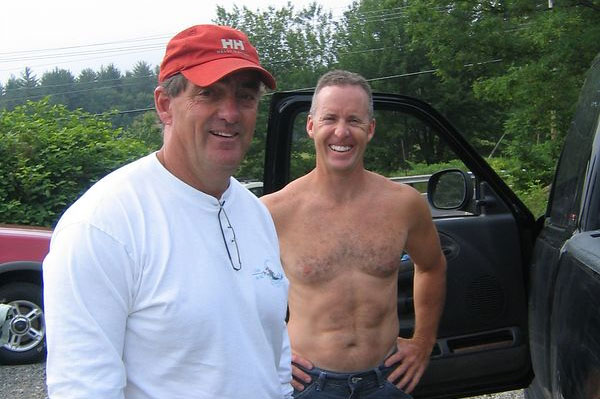 Alan with Paul Myers